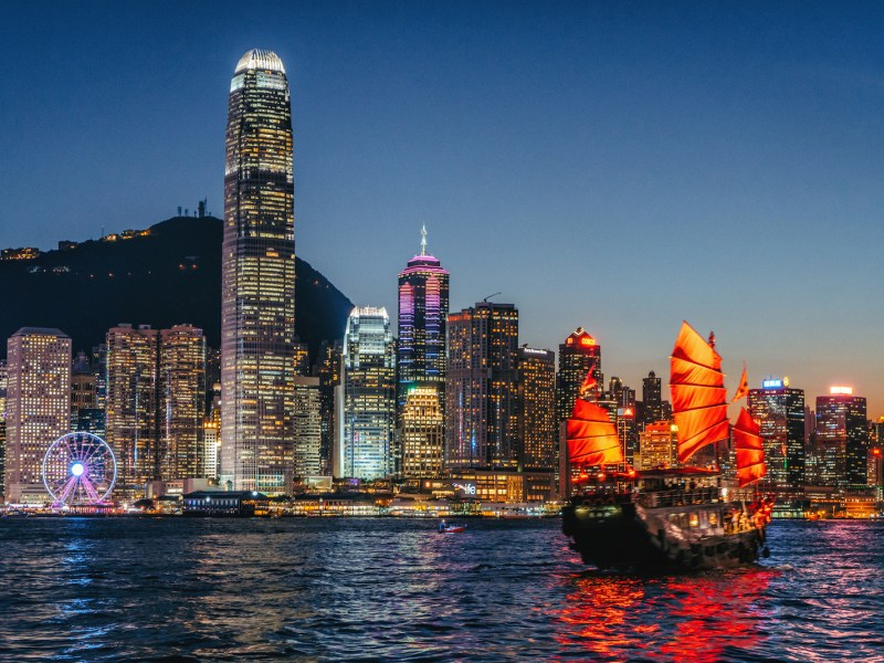 Hong Kong sparkles beneath the night sky. Photo: iStock