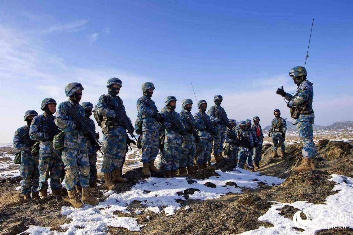 The PLA moved 10,000 marines large distances across the nation recently for exercises designed to replicate emergencies. Photo: Xinhua