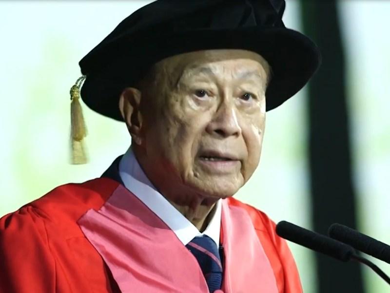 Li Ka-shing.Photo: Youtube, Li Ka Shing Foundation