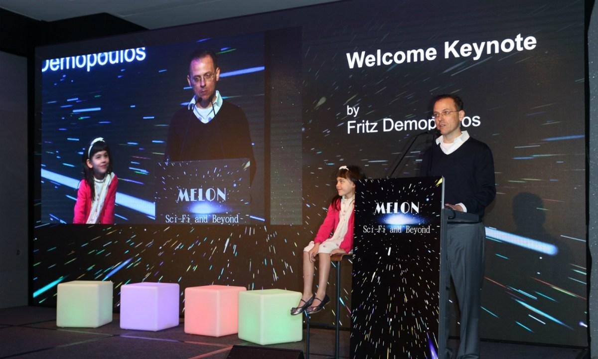 Melon founder Fritz Demopoulos. Photo: Asia Times