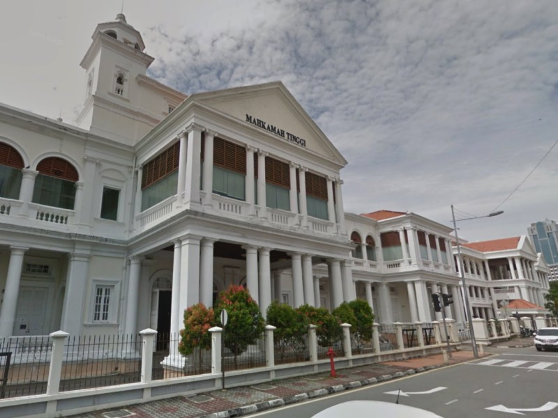 The Penang High Court in George Town, Malaysia. Photo: Google Maps