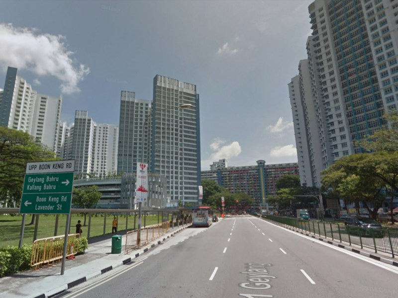 HDB buildings in Boon Keng, Singapore. Photo: Google Maps
