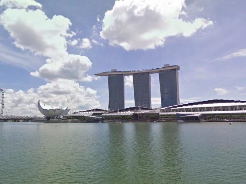 Marina Bay Sands, Singapore. Photo: Google Maps