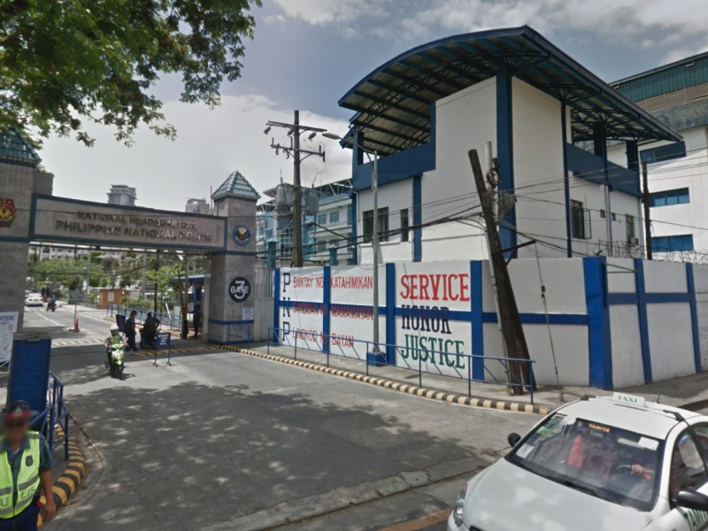 National headquarters of the Philippine National Police (PNP), Metro Manila, Philippines. Photo: Google Maps