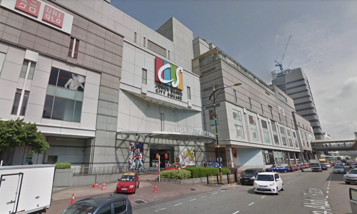 A shopping mall in Johor Bahru, Malaysia. Photo: Google Maps