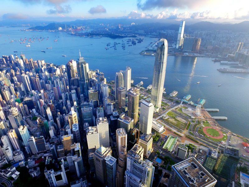 An aerial view of Hong Kong. Photo: iStock