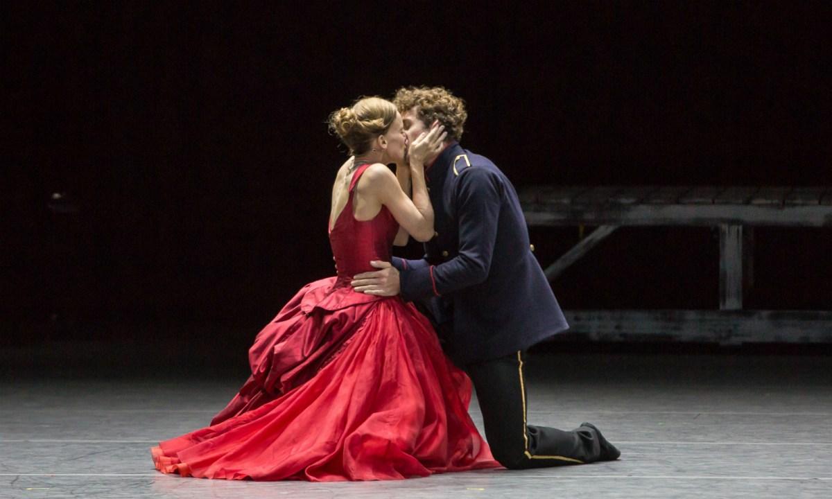 A scene from the Zurich Ballet's 'Anna Karenina.' Photo: Gregory Batardon