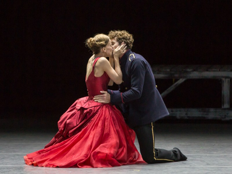 A scene from the Zurich Ballet's 'Anna Karenina.' Photo: Gregory Batardon