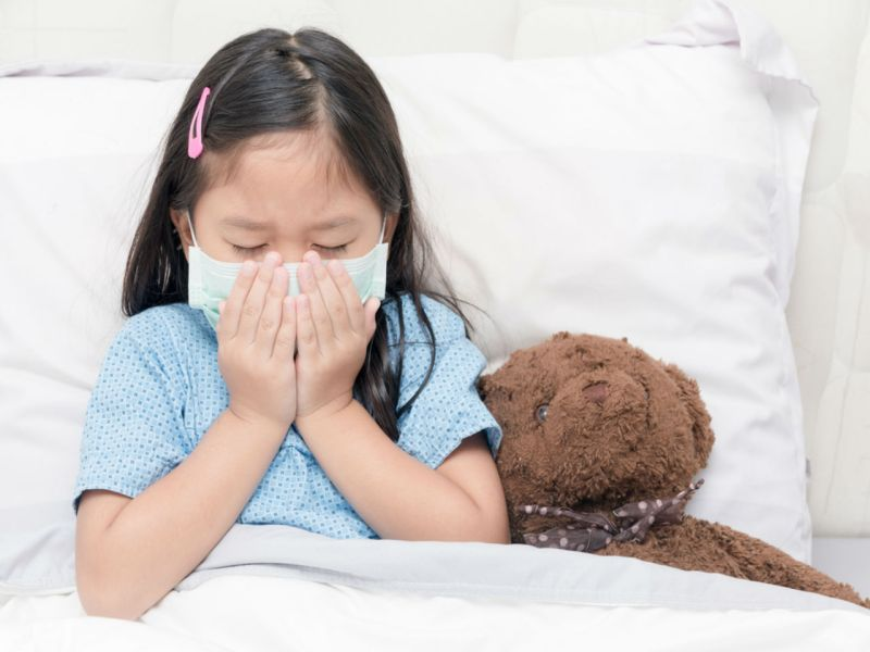 95% of kids seriously ill with flu over the cold season did not receive flu vaccinations. Photo: iStock