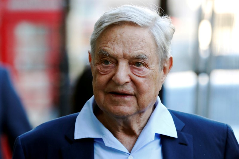 Business magnate George Soros in 2016. Photo: Reuters / Luke MacGregor