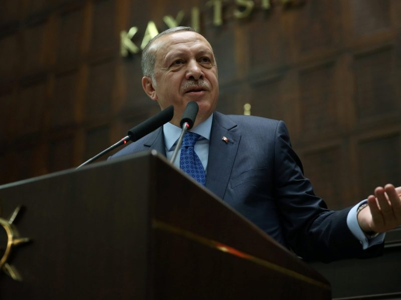 Turkish President Tayyip Erdogan. Photo: Reuters/Murat Cetinmuhurdar
