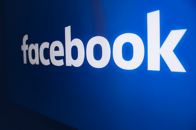 The Facebook logo. Photo: Flickr Commons /  www.shopcatalog.com