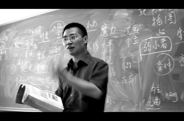 Chinese teacher. Photo: Flickr Commons