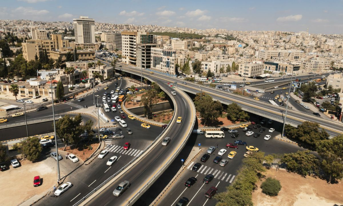 Amman, Jordan. Photo: Wikimedia Commons