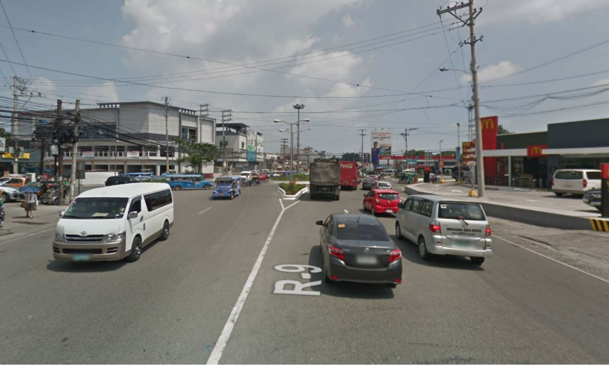 Pampanga in Angeles City where the body was found. Photo: Google Maps