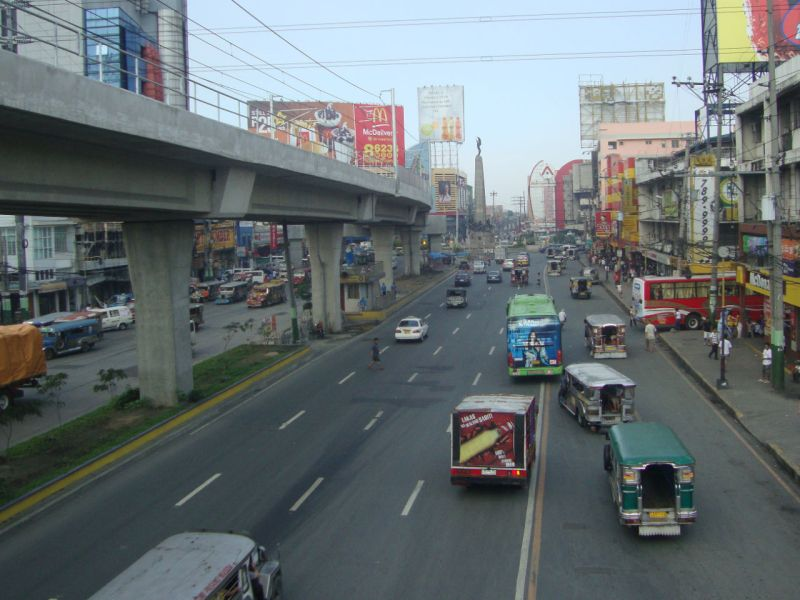 Caloocan City in Philippines where the fire killed two people. Photo: Wikimedia Commons/Patrickroque01