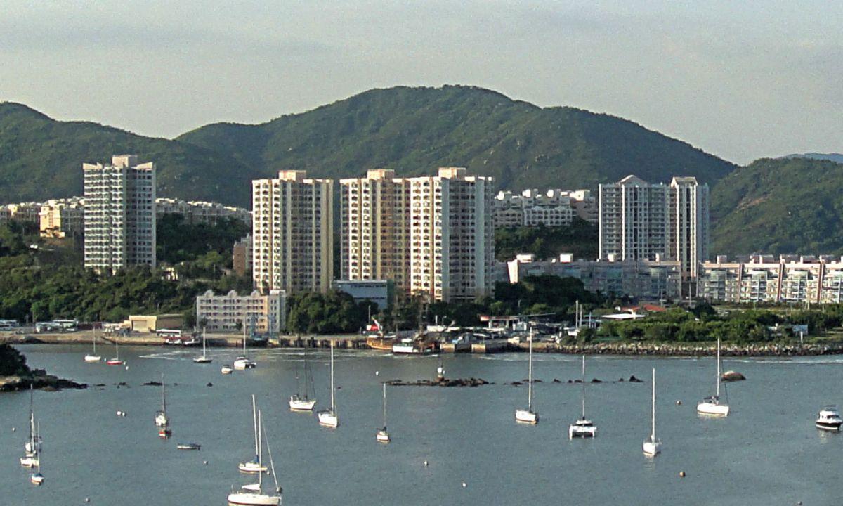 Discovery Bay, Hong Kong. Photo: Wikimedia Commons, HK Arun