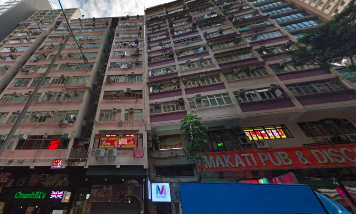 Wan Chai on Hong Kong Island. Photo: Google Maps