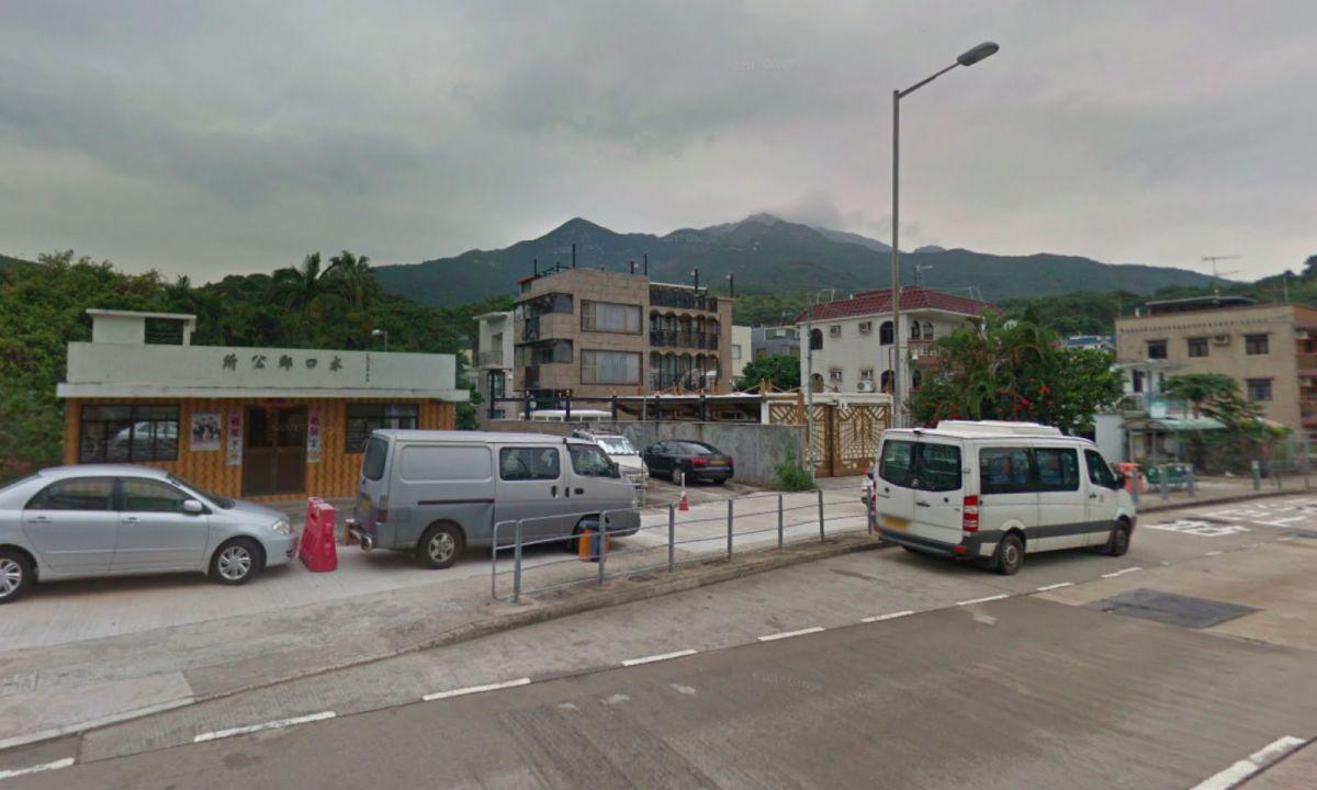 Shui Hau Village on Lantau Island. Photo: Google Maps