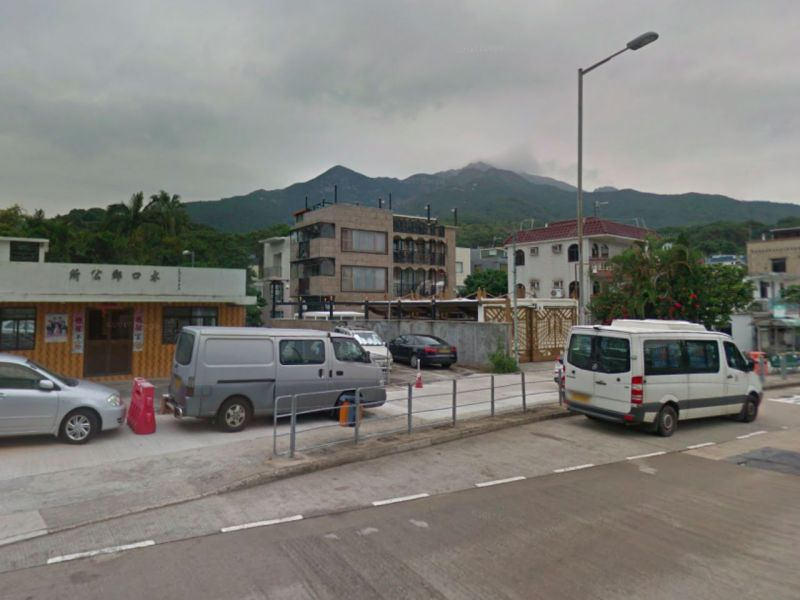 Shui Hau Village on Lantau Island. Photo: Google Maps