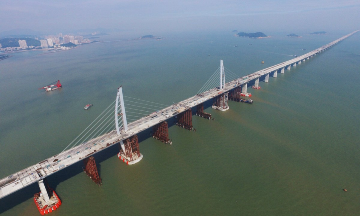 The Hong Kong-Zhuhai-Macau Bridge. Photo: www.hzmb.hk