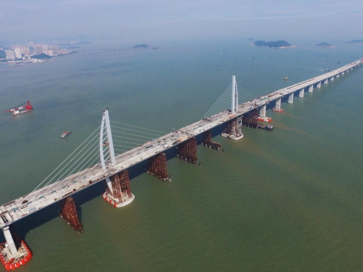 The Hong Kong-Zhuhai-Macau Bridge. Photo: www.hzmb.hk