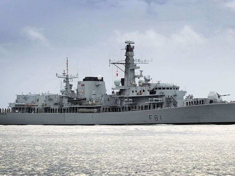 HMS Sutherland (F81), a type 23 frigate of the Royal Navy. Photo: Wikipedia