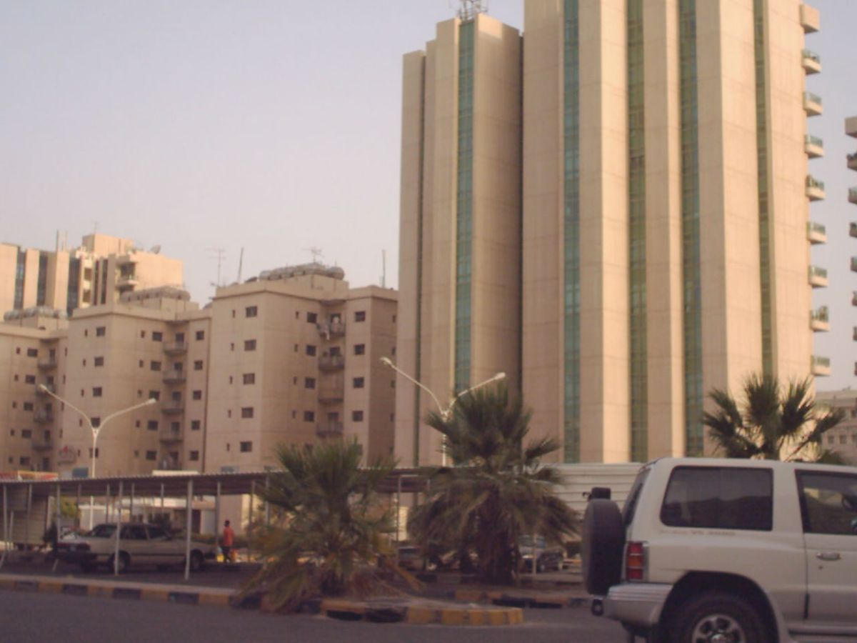 Jabriya in Kuwait where the 'indecent act' of kissing took place. Photo: Wikimedia Commons/Ahmednh