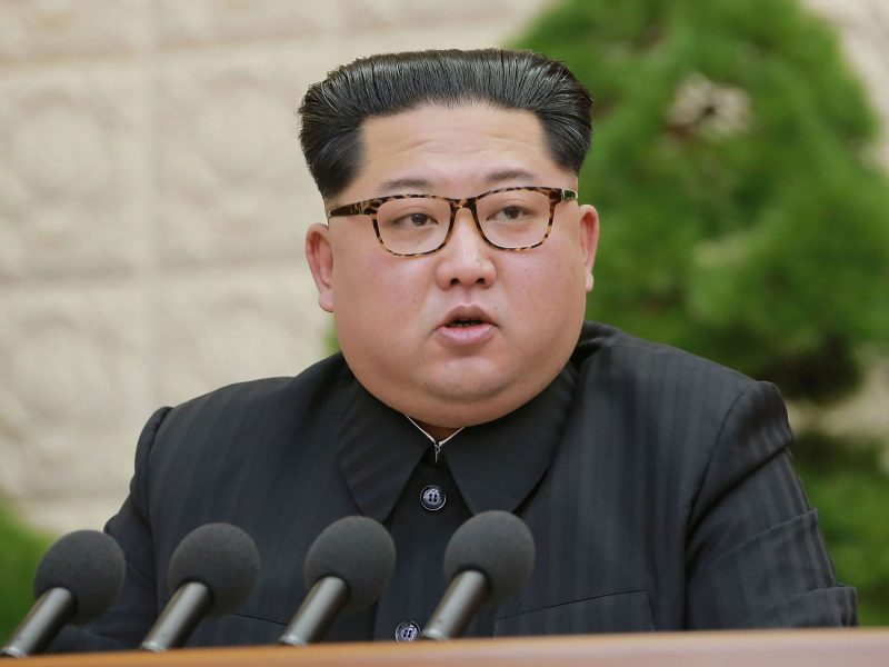 North Korean leader Kim Jong-un has some tough decisions to make. Photo: AFP/KCNA via KNS