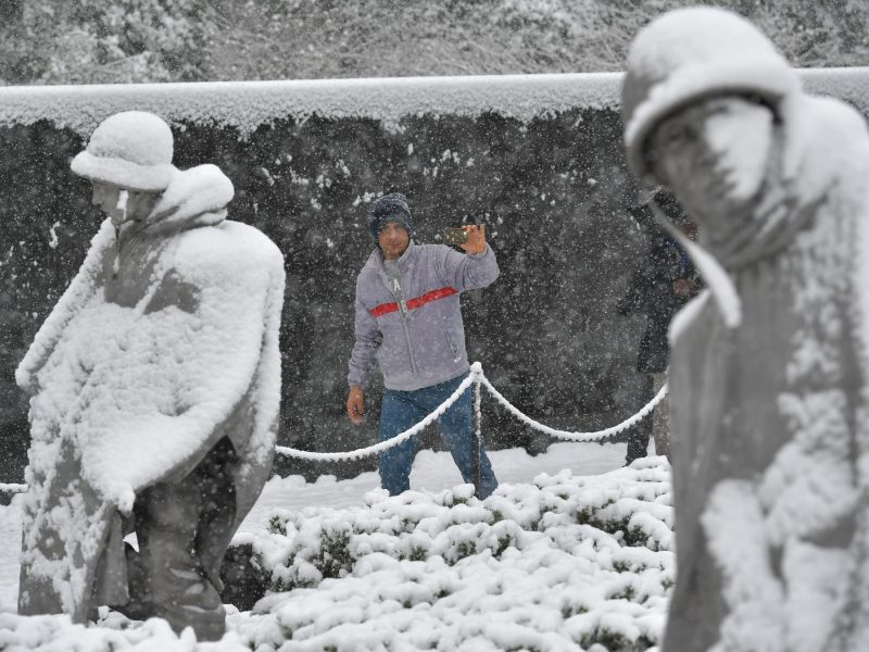 The Korean War Memorial in Washington. Photo: AFP/Mandel Ngan