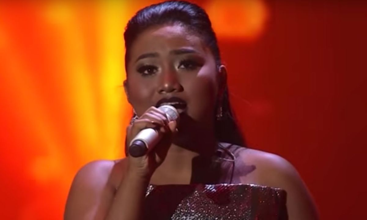 Maria Simorangkir became the youngest contestant to win Indonesian Idol. Photo: Indonesian Idol/YouTube