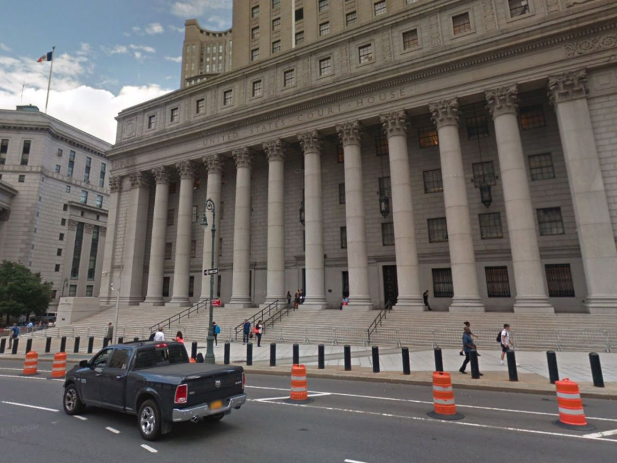 US Court House in New York. Photo: Google Maps