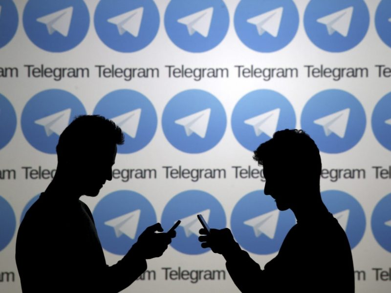 The Telegram messaging service has been banned in Russia. Photo: Reuters/ Dado Ruvic