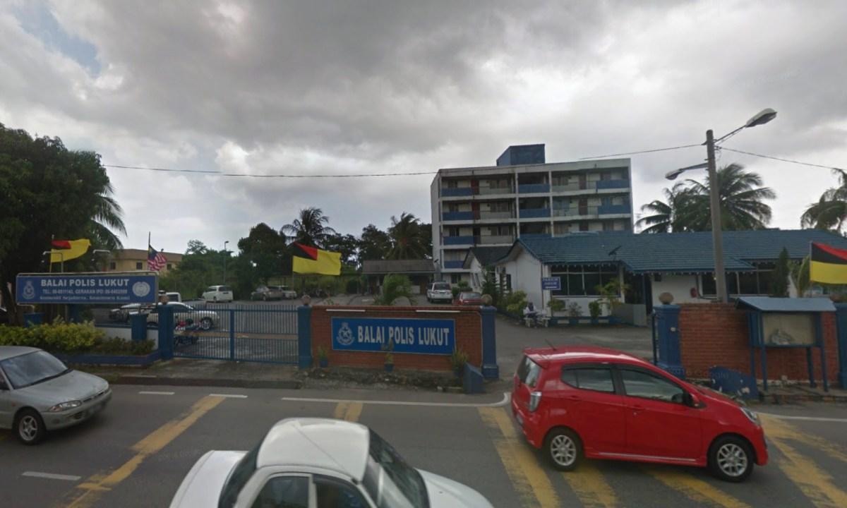 Lukut Police Station, Negeri Sembilan, Malaysia. Photo: Google Maps