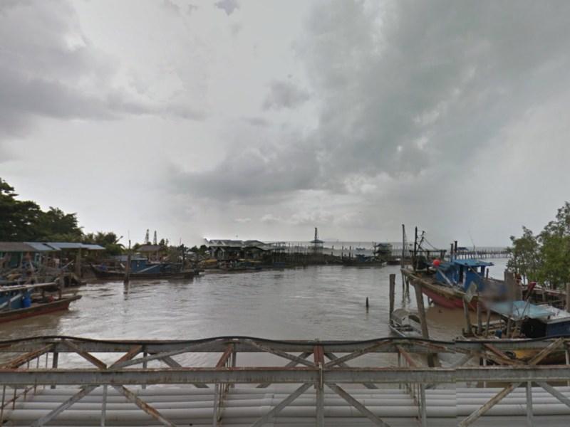 Kelong Pontian in Johor, Malaysia. Photo: Google Maps