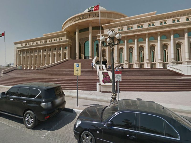 Sharjah Court in the UAE. Photo: Google Maps