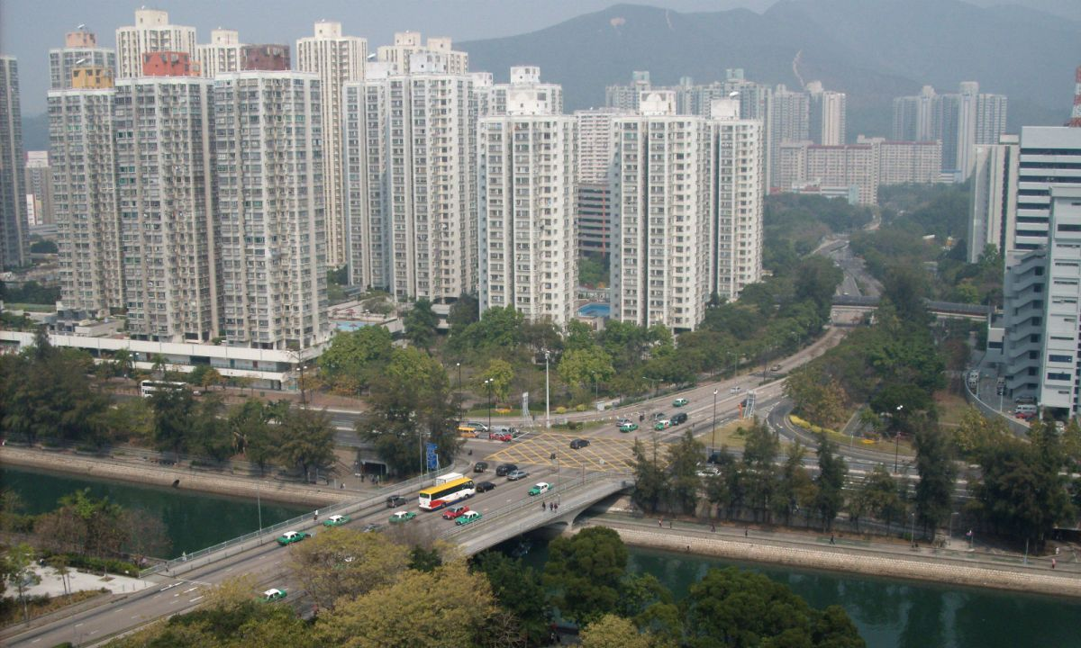 Tai Po, Hong Kong. Photo: Wikimedia Commons