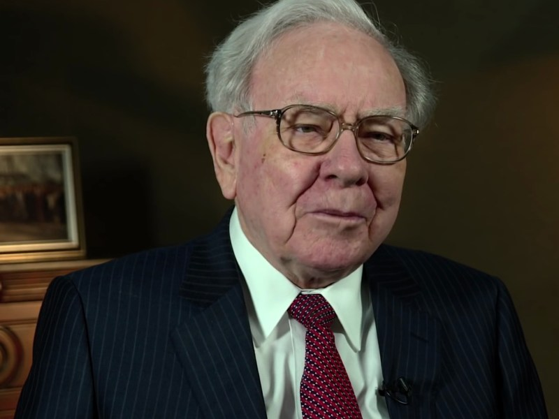 Warren Buffett, Chairman and CEO of Berkshire Hathaway. Photo: USA International Trade Administration