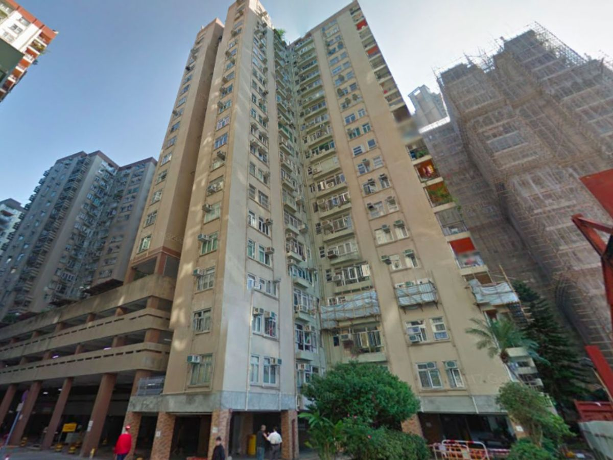 Mei Foo Sun Chuen in Kowloon where the fire broke out. Photo: Google Maps