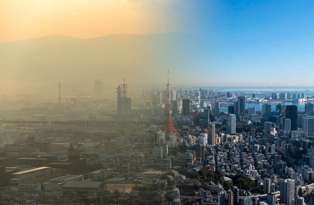 Clean and dirty air. Photo: iStock