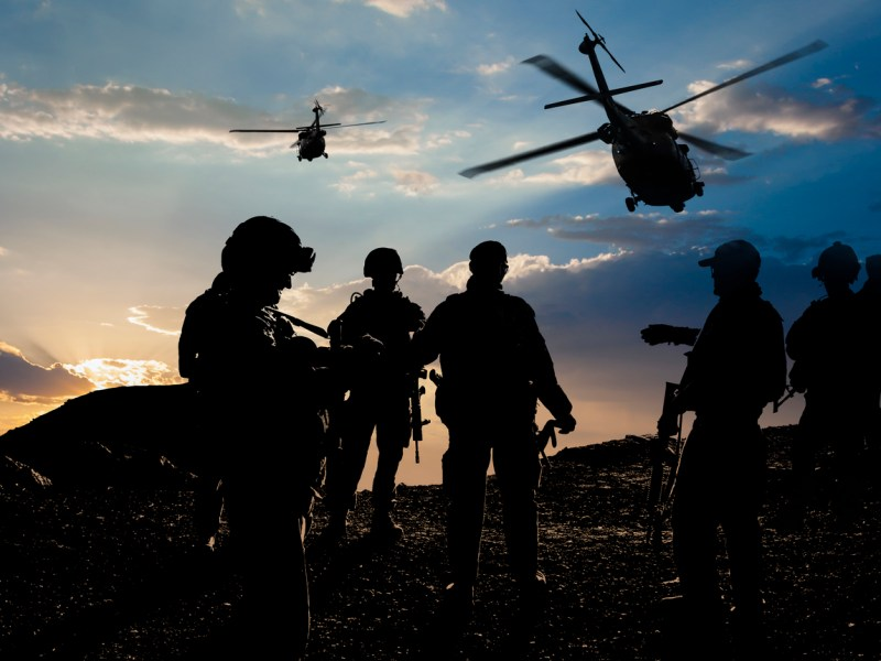 Military Mission at dusk. Photo: iStock