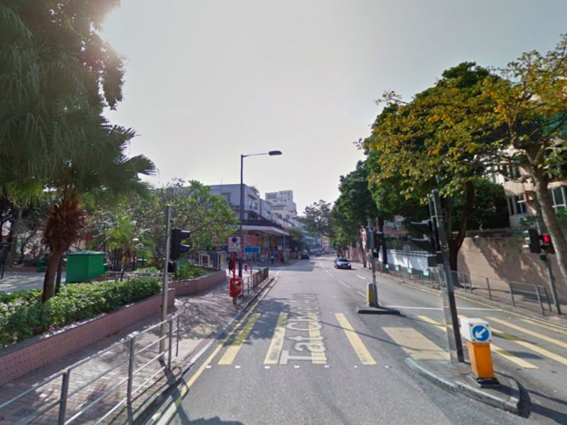 Kowloon Tong in Kowloon where the woman and the car met. Photo: Google Maps