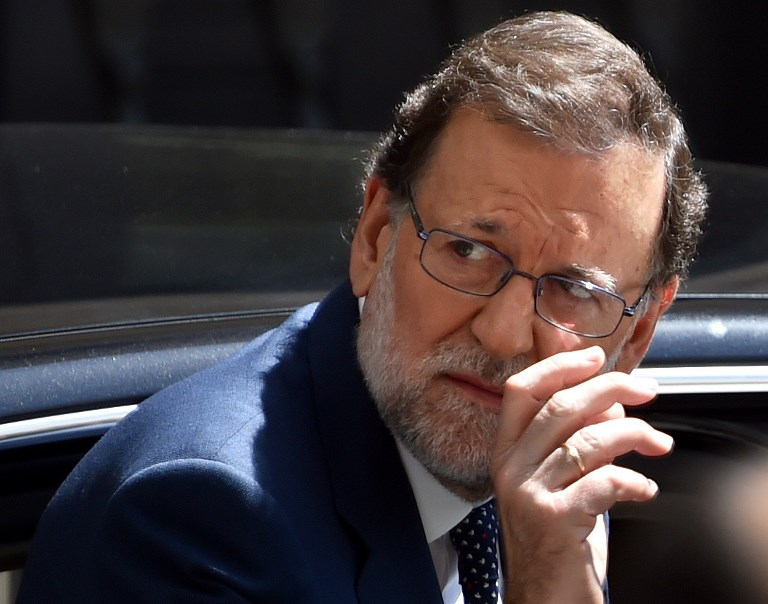 Spanish Prime Minister Mariano Rajoy. Photo: AFP