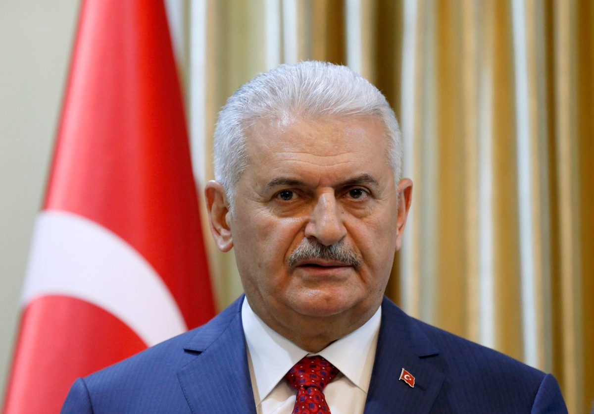 Turkish Prime Minister Binali Yildirim. Photo: Reuters/Mohammad Ismail