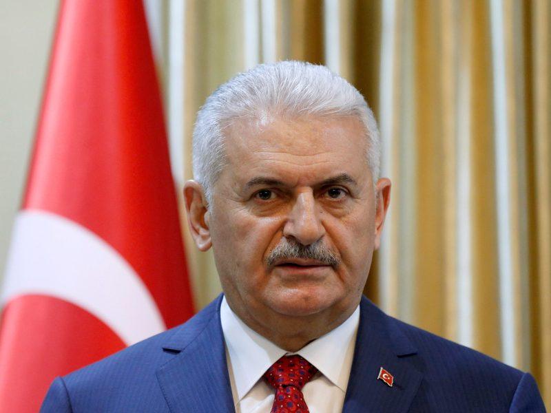 Turkish Prime Minister Binali Yildirim. Photo: Reuters/Mohammad Ismail