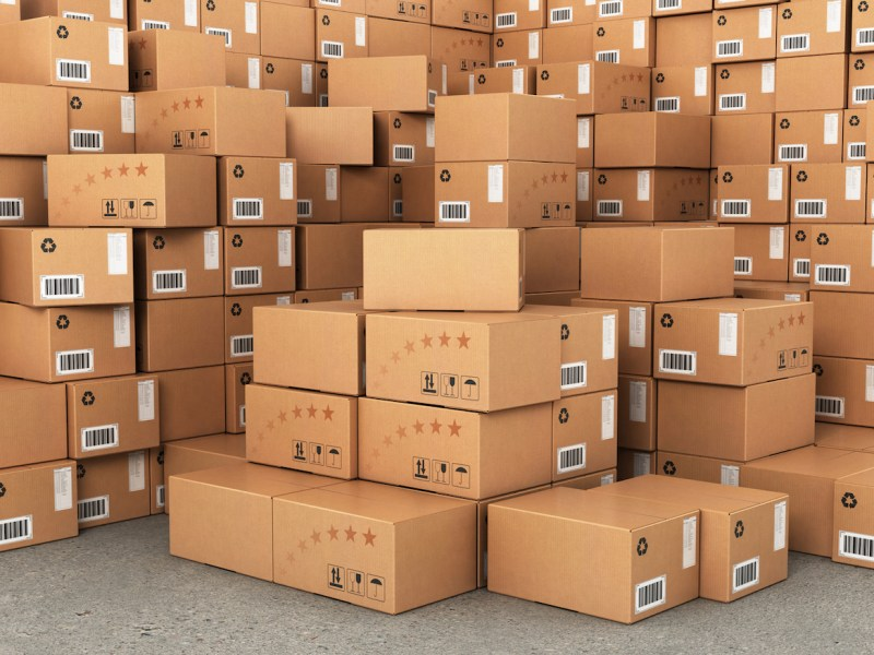 The manufacturing costs of cardboard boxes have soared in the past year. Photo: iStock
