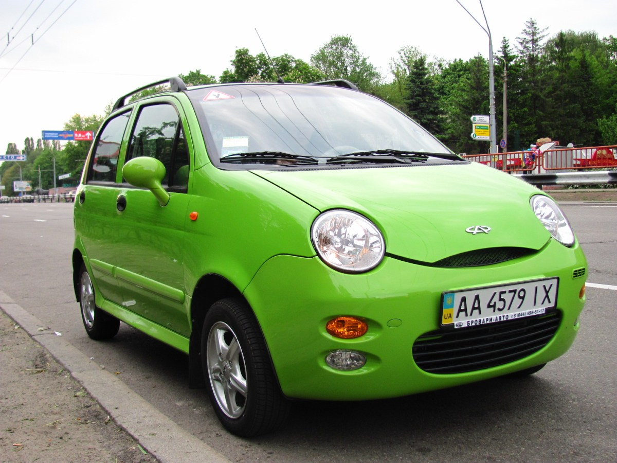 Chery Automobile's QQ model in Ukraine. Photo: Wikimedia Commons/ANT Berezhnyi