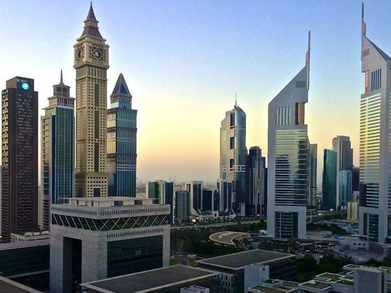 Dubai where the students lived with their families. Photo: Wikimedia Commons, Jackardsiffant