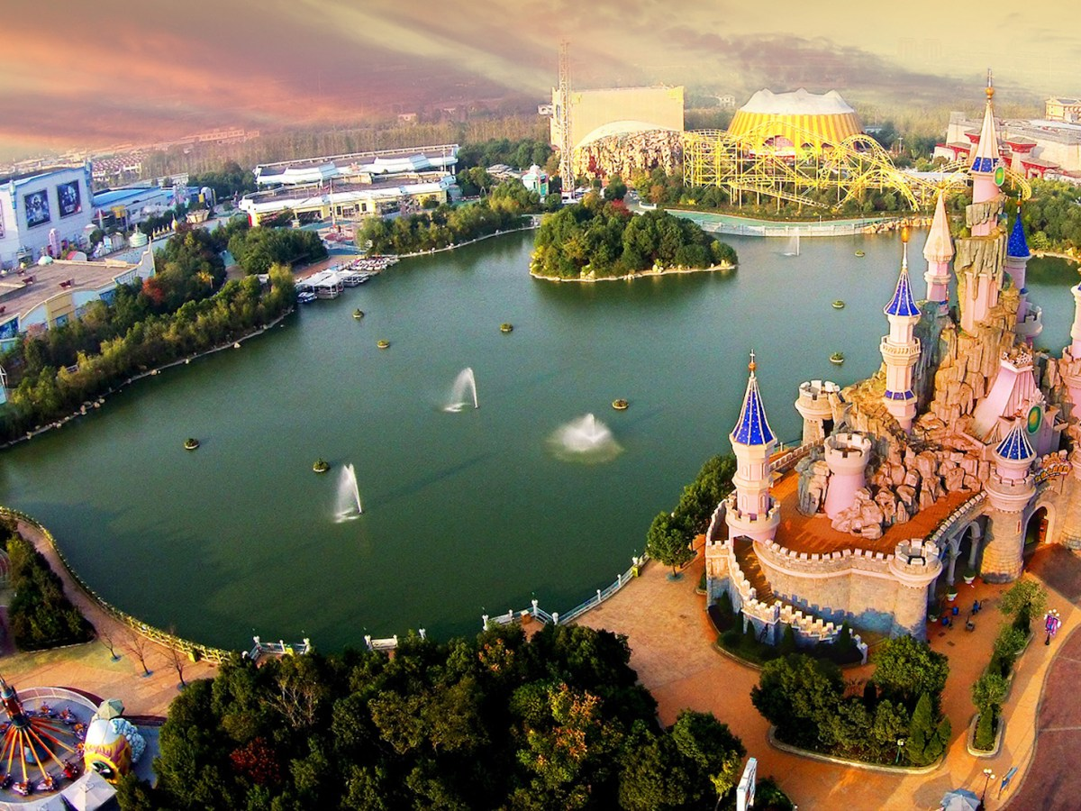 A theme park in China. Photo: Fantawild