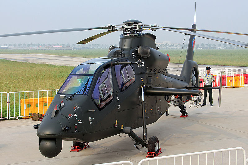 China's Z-19 helicopter. Photo: AVIC handout